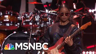 Sting And H.E.R. Sing 'Message In A Bottle' | MSNBC
