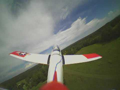 Third Person View FPV on a T-28