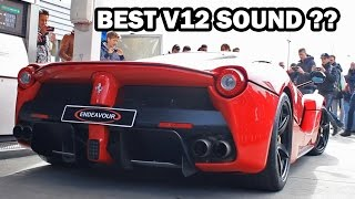 BEST V12 Sound - Ferrari, Lamborghini or Aston Martin?