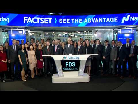 FactSet Rings Nasdaq Opening Bell, March 8, 2017