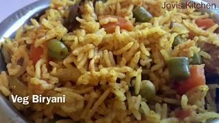 Veg biryani | How to make Vegetable biryani without using pressure cooker