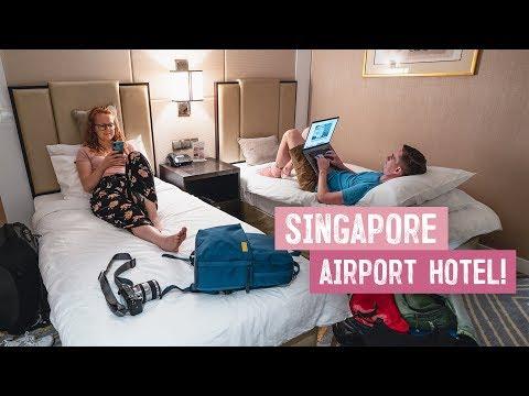 Singapore Airport OVERNIGHT HOTEL! - Best Way To Beat Jet Lag?? (Vietnam To Australia)