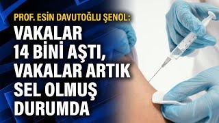 Prof. Esin Davutoğlu Şenol: Vakalar 14 bini aştı, vakalar artık sel olmuş durumd