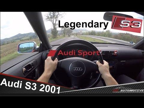 Audi S3 1.8 Turbo (2001) POV Test Drive + Acceleration 0 - 200 Km/h