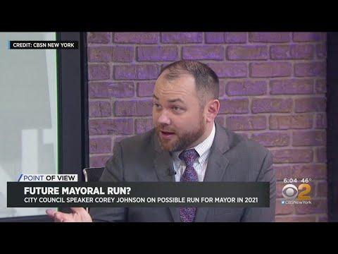 Will Corey Johnson Run For Mayor?