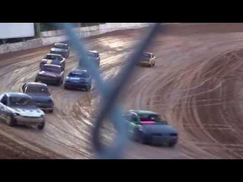 loose nut racing heat race @ Camden Motor Speedway on may 31 2014