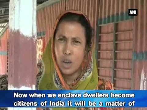 Enclave dwellers welcome land swap agreement between India and Bangladesh