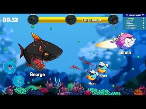 EATME.IO: HUNGRY FISH FUN GAME android gameplay