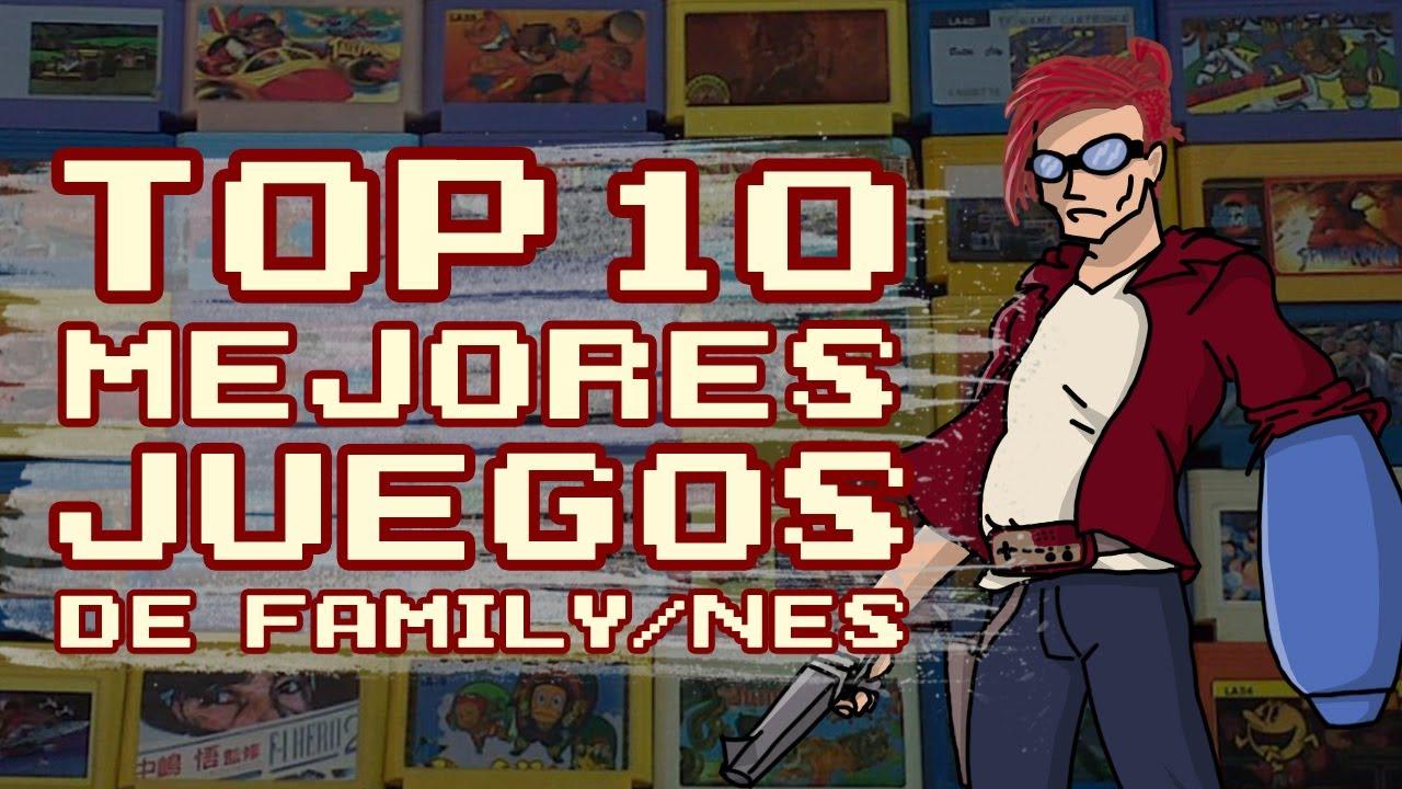 Top 10 Mejores Juegos De Family Nes Youtube