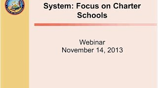 Transition to a New Assessment System: Focus on Charter Schools