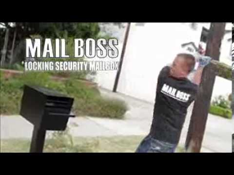 Mail Boss Curbside Security Locking Mailbox