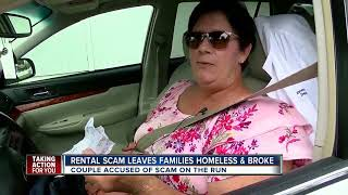 Couple scammed families out of more than $25,000 in rental house scheme