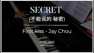 "Secret OST//Jay Chou - "" First kiss """