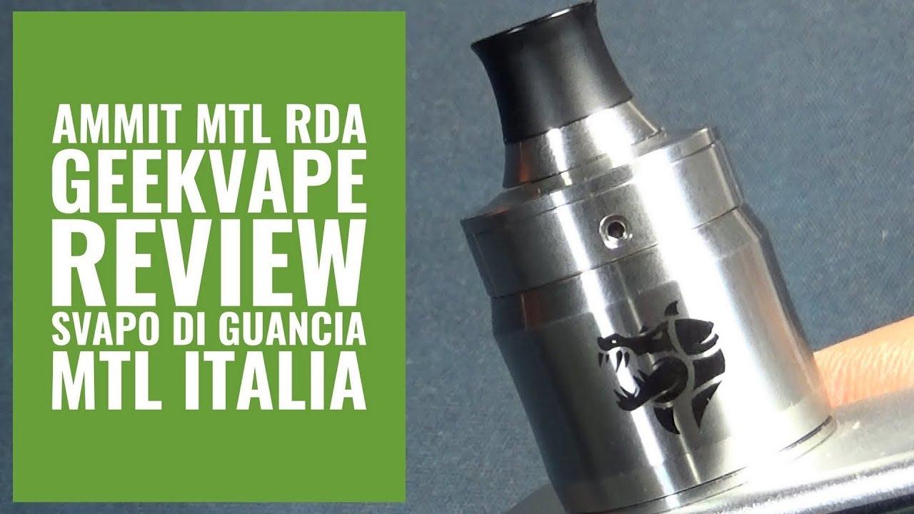 Ammit MTL RDA Atomizzatore Geekvape