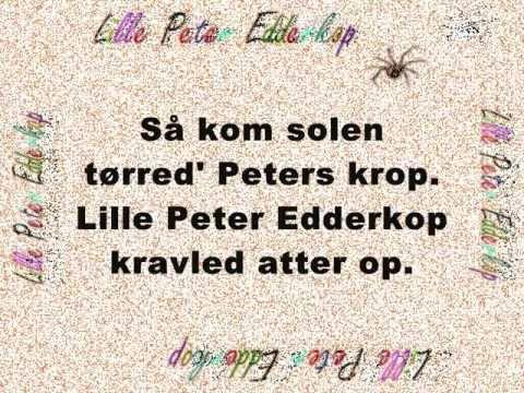 Lille peter edderkop