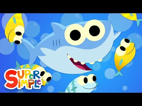 Ba Shark  Kids Songs  Super Simple Songs