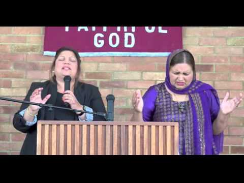 Church Service - Punjabi Pentecostal Blazing Fire Ministries - Hayes on Glory TV 2015