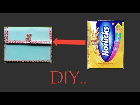 DIY MULTIPURPOSE STORAGE BOX/DIY WITH WASTE CARDBOARD BOX