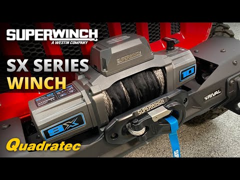 Superwinch SX Series Winch Review - 10,000k & 12,000k Synthetic and Steel Cable Winches