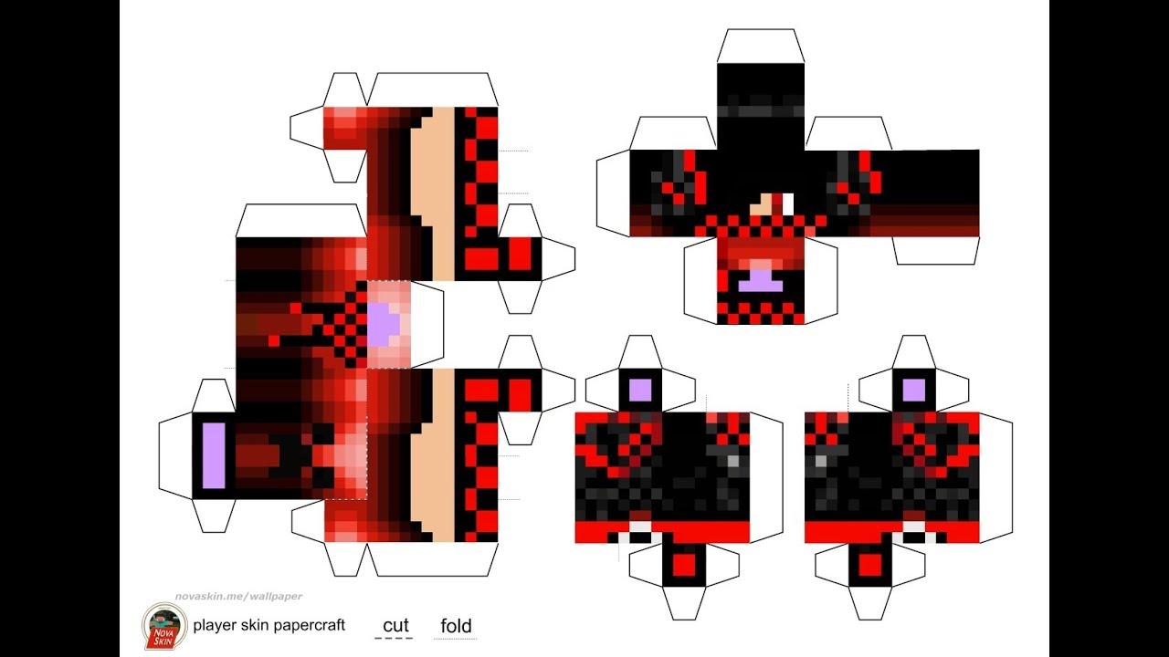 2014 Papercraft Minecraft