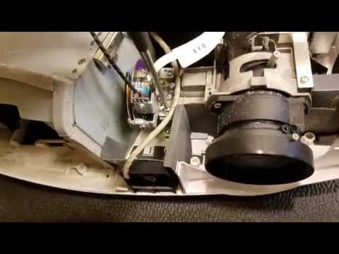 Optoma HD20 Projector Cleaning