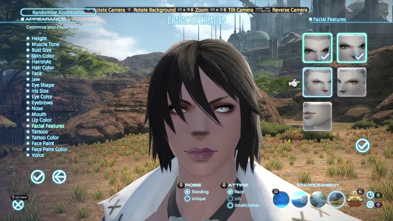 FFXIV: Character Creation Female Roegadyn Hellsguard
