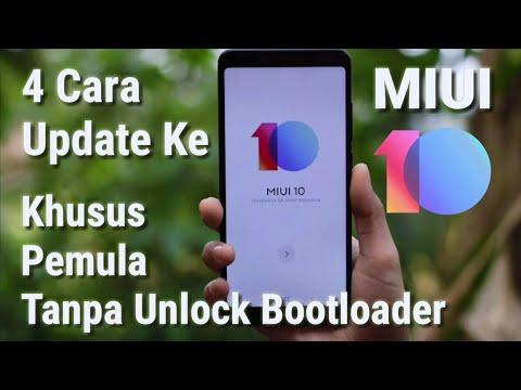 Ada 4 Cara Buat Update Ke MIUI 10 | Kusus Pemula Tanpa Unlock Bootloader