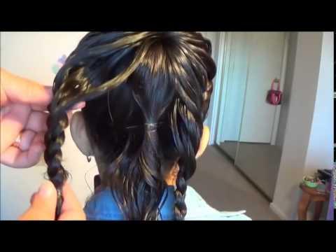 Hướng dẫn tết tóc kiểu bướm cực xinh