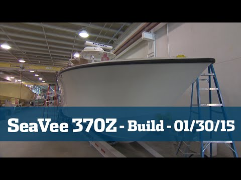 SeaVee 370Z Follow The Build Part #5 - Florida Sport Fishing TV