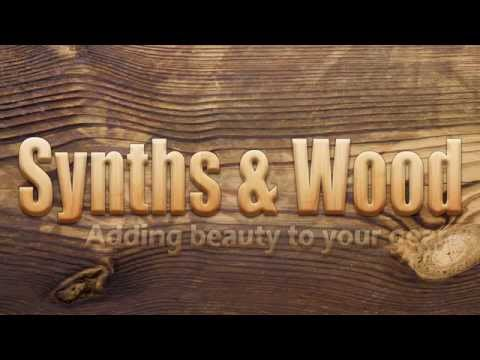 Synths & Wood, Custom end cheeks and stands for your analogue and digital gear