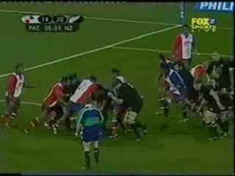 All Blacks vs The Pacific Islanders 2004