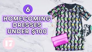 Cheap Homecoming Dresses Under $100 | Style Lab