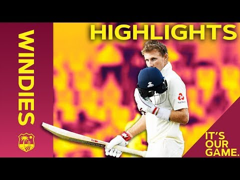 Joe Root Hits 16th Test Match Hundred | Windies vs England 3rd Test Day 3 2019 - Highlights Mp3