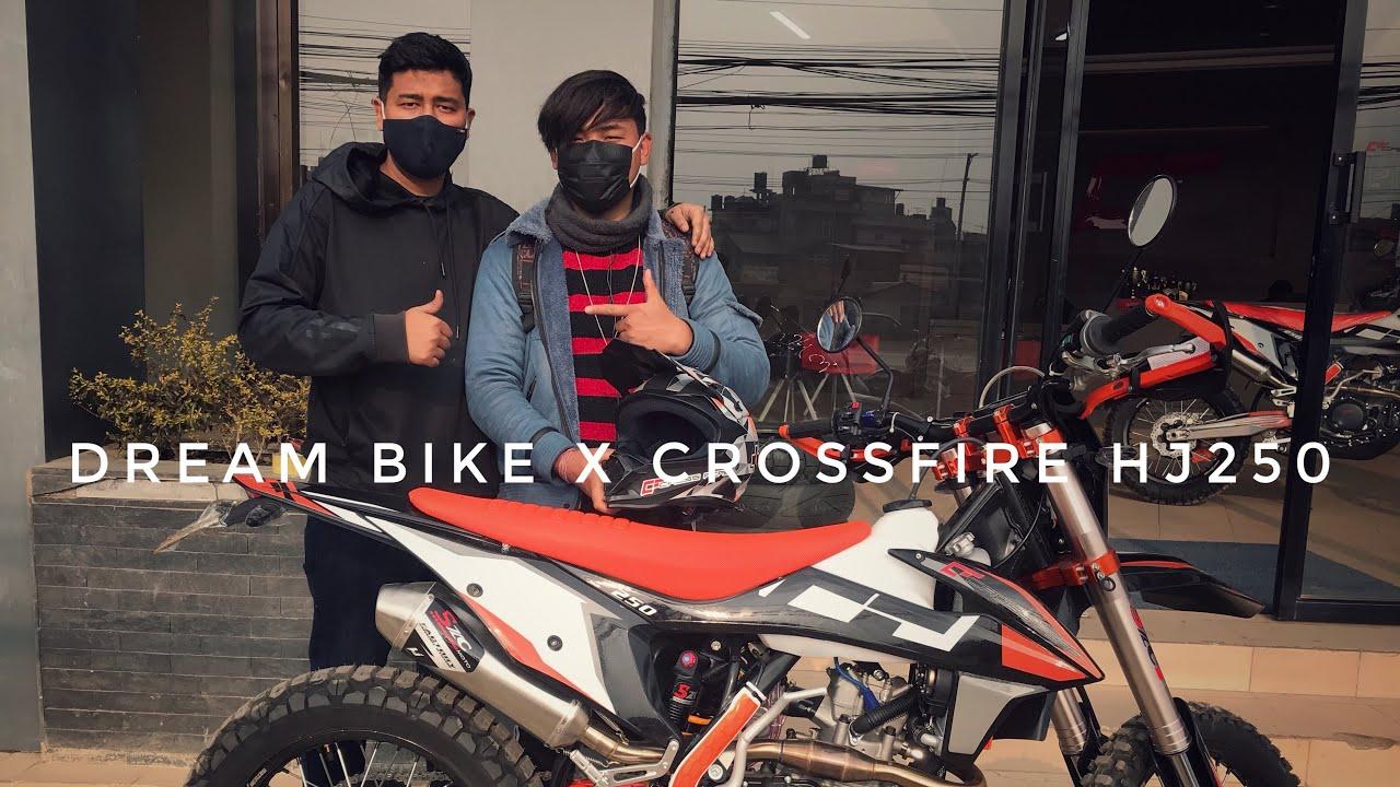 Buying my dream bike X Crossfire Hj250   Feb 15  Sudip Vlogs