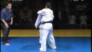2008年 極真連合杯 世界空手道選手権大会 軽量級準決勝 TV放送版.