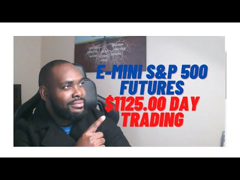 Day trading for beginners, E-mini s&p 500 futures trading for daily income. Things you must know