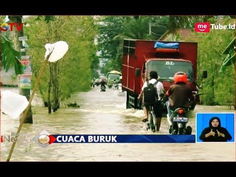 Sejumlah Sungai Meluap, 7 Desa di Cilacap Terendam Banjir - BIS 14/11