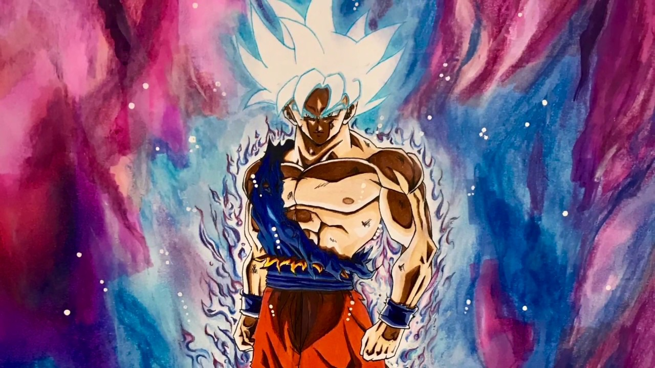 孫悟空 身勝手の極意 極 描いてみた Drawing of Goku Mastered Ultra Instinct