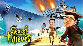 SEA OF THIEVES ĐỤT #11: TEAM ĐỤT LẤY ĐƯỢC TÀU CHIẾN KHỦNG NHẤT GAME !!! Tôi khóc mất =))))