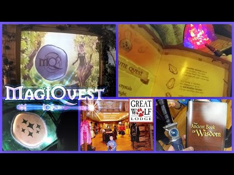 MAGIQUEST at GREAT WOLF LODGE || Fun Kids Adventure Game