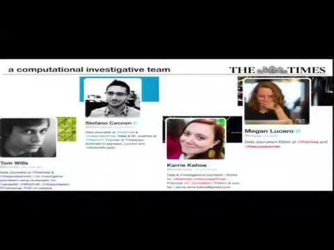 Data in investigative journalism