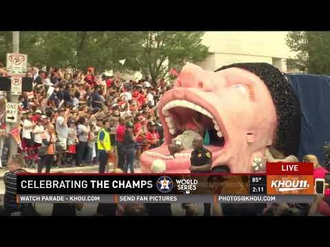 The Houston Astros World Series Championship Parade