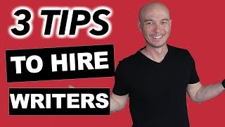 3 Tips for Hiring Writers for Amazon Affiliate Sites