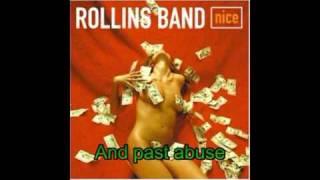 Rollins Band - One Shot (With Lyrics)