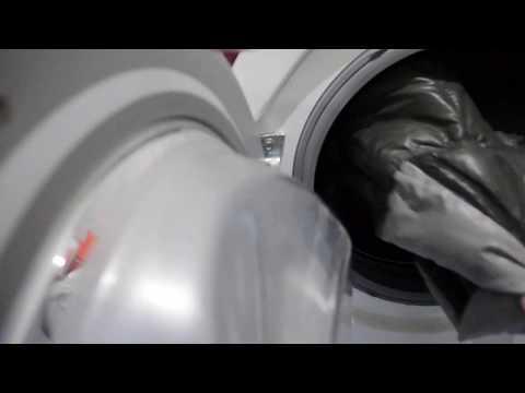 Как я стираю пуховик / Стиральная машина LG
