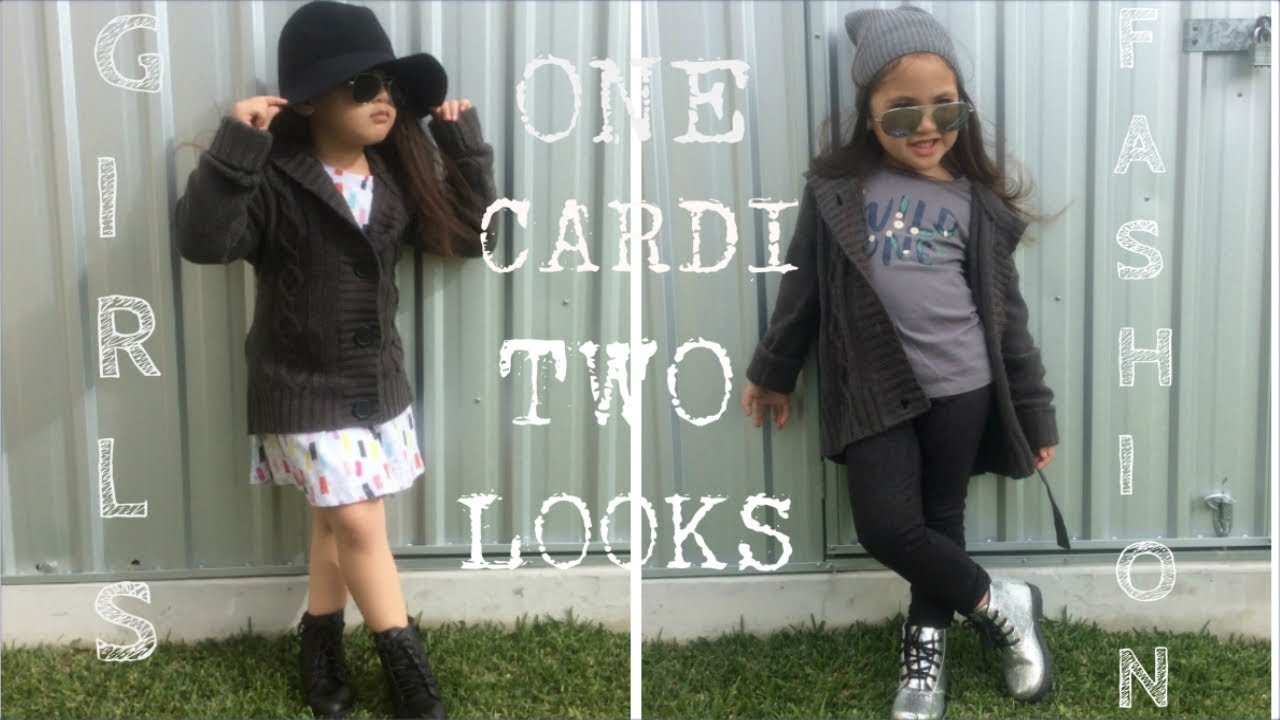 60c43f7bb98 ONE CARDI TWO OUTFITS! BABY GIRL KID FASHION OUTFIT CLOTHES FALL ...