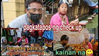 Nanay Samena & kuya Dexter's Check up   Nakapag grocery at kumain narin🤠