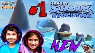 Hungry Shark Evolution - Recent Update - Family Fun Game Play