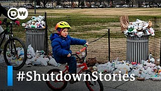 US government shutdown stories get trending topic on social media | DW News