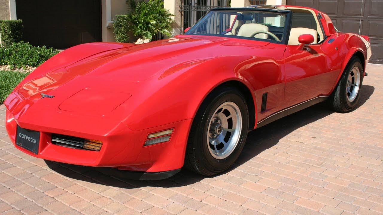 1980 Corvette For Sale >> 1980 Corvette Coupe Glass T-Tops Red/Tan ...